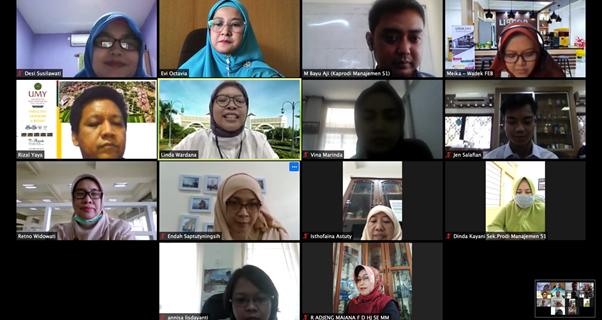 Kegiatan Studi Banding FEB Universitas Widyatama dengan Universitas Muhammadiyah Yogyakarta